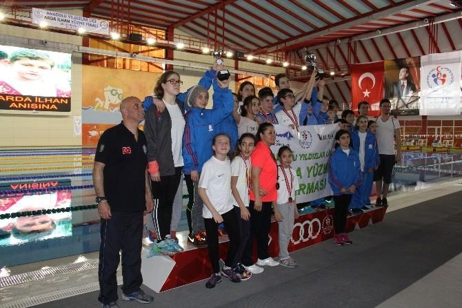 Analig Arda İlhan 2015 Yüzme Türkiye Şampiyonası Mersin'de Yapıldı