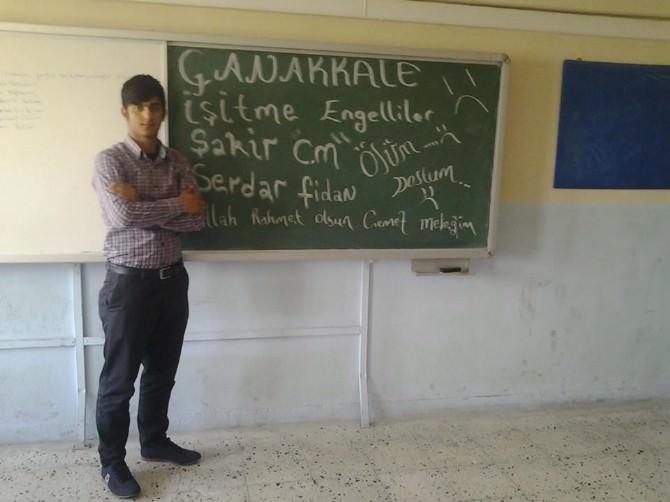 Çanakkale'de İşitme Engelli Öğrencilere Sessiz Veda