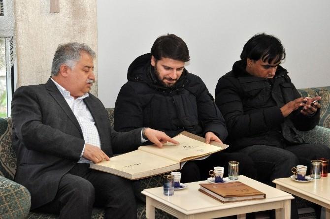 Sami Yusuf NEÜ Rektörünü Ziyaret Etti