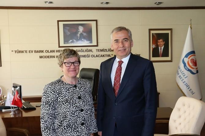 Finlandiya Büyükelçisi'nden Başkan Zolan'a Ziyaret