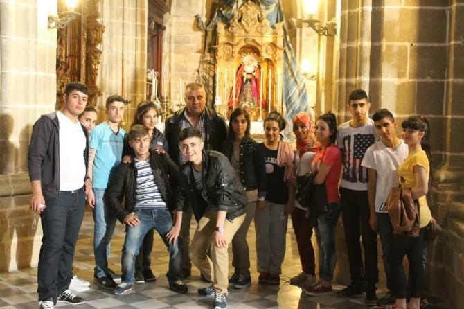 Hakkari Ticaret Meslek Lisesi İspanya'da