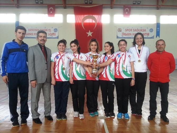 Yamanlar Badminton Ve Cimnastikte Şampiyon Oldu