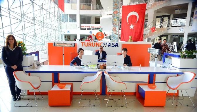 Başkan Uysal Turunç Masa'yı Denetledi