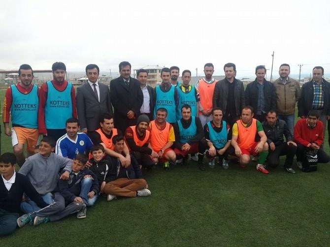 İpekyolu'nda Engelliler Arası Futbol Turnuvası