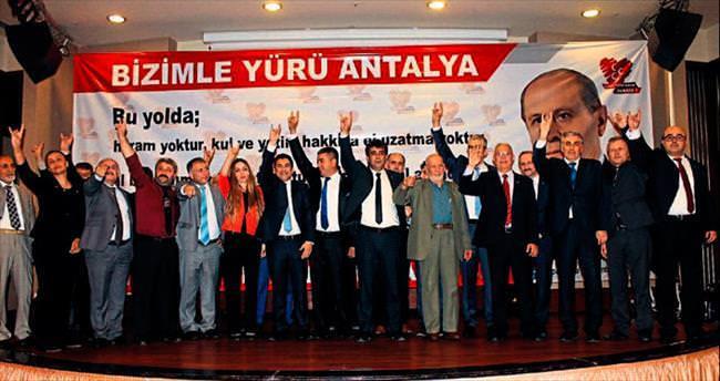 MHP adayları birlik mesajı verdi