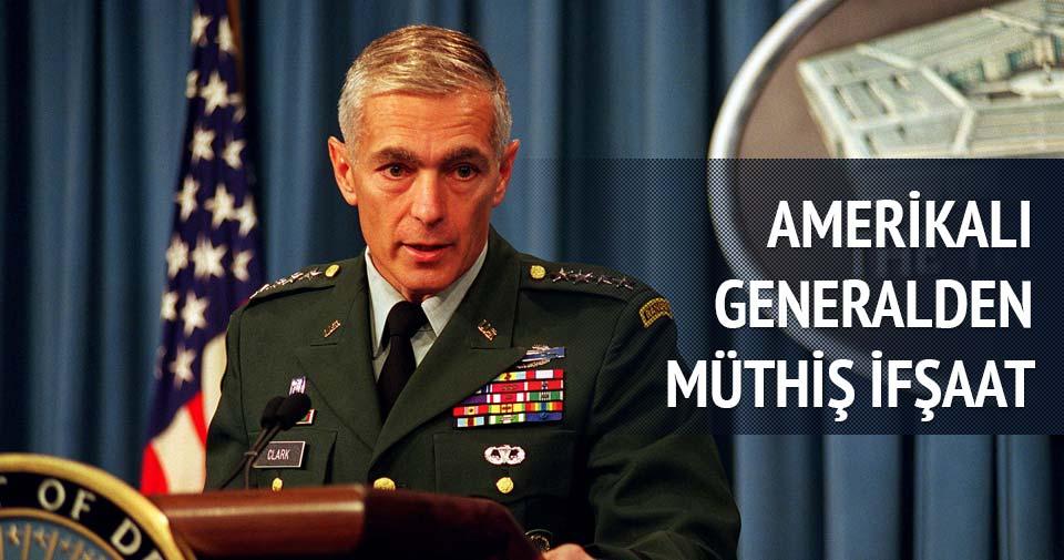 Amerikalı General'den müthiş ifşaat!