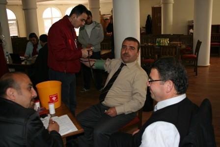 Bartın Müftülüğün'den Kan Bağışı