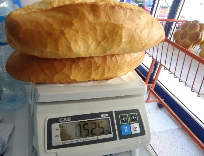 Fırınlar Denetlendi, 638 Ekmeğe El Konuldu