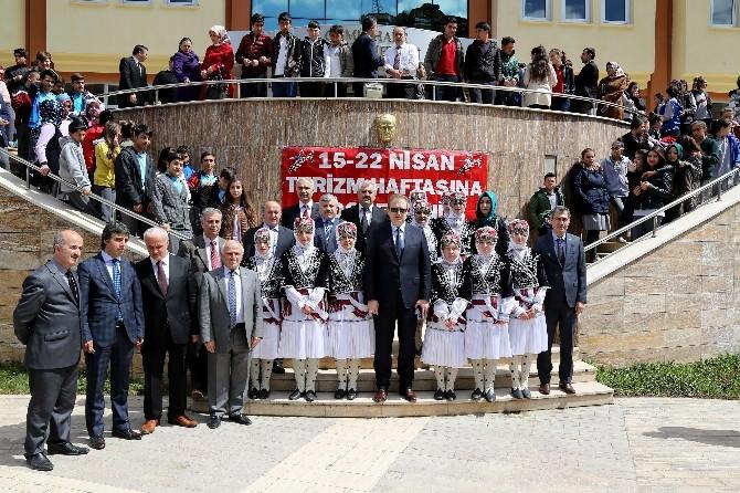 Gümüşhane'de 39.turizm Haftası Kutlamaları