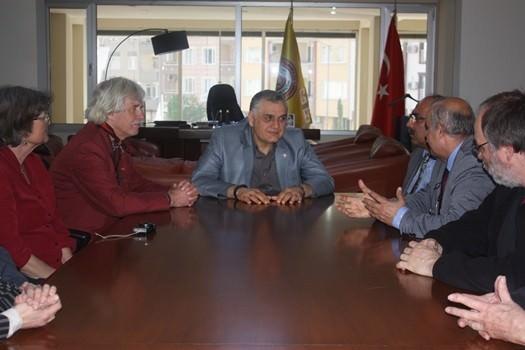 Kiel Ve Çevresi Alman Türk Derneği ATSO'yu Ziyaret Etti