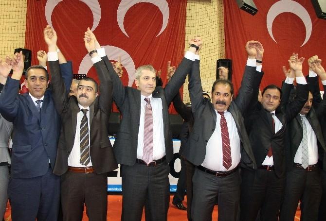 MHP Elazığ Teşkilatı Milletvekili Adaylarını Tanıttı