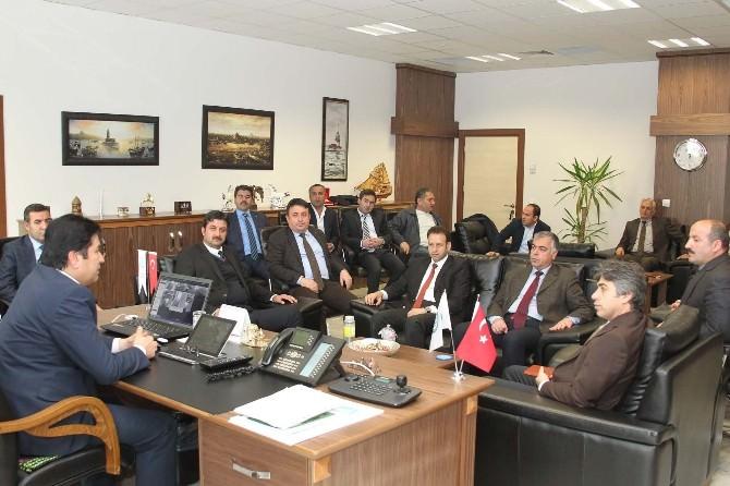 Muş Alparslan Üniversitesi Heyetinden BEÜ'ye Ziyaret