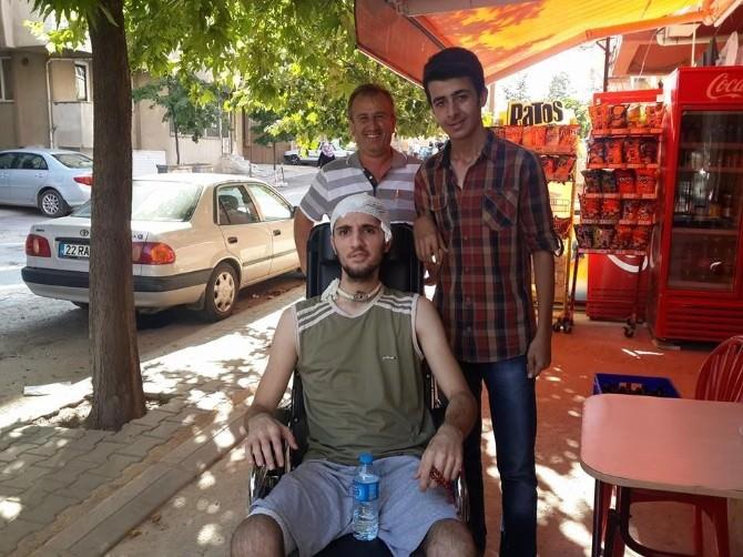(Özel Haber) Edirneli Genç, Yaşama Dönüşünü Bakan Müezzinoğlu'na Borçlu