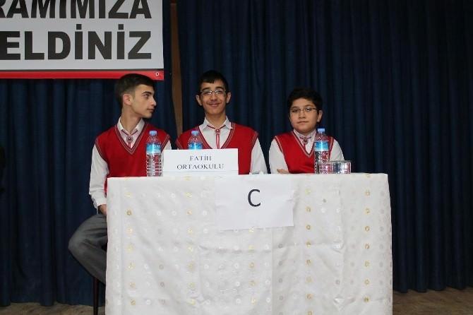 Sungurlu'da Siyeri-i Nebi Bilgi Yarışması