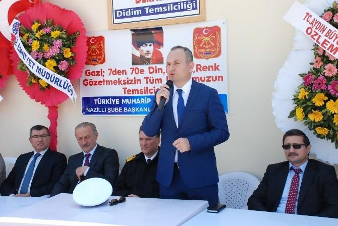 Didim'de Muharip Gaziler Derneğinin Yeri Törenle Açıldı