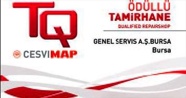 Genel Servis'e Altın TQ Sertifikası