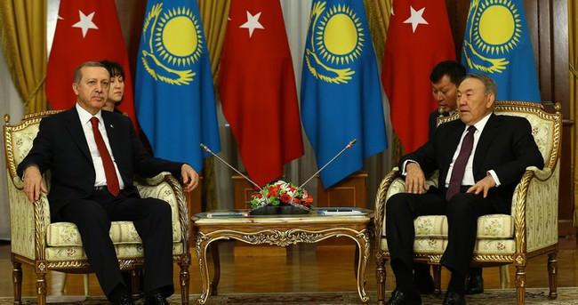 Erdoğan Kazakistan'da konuştu