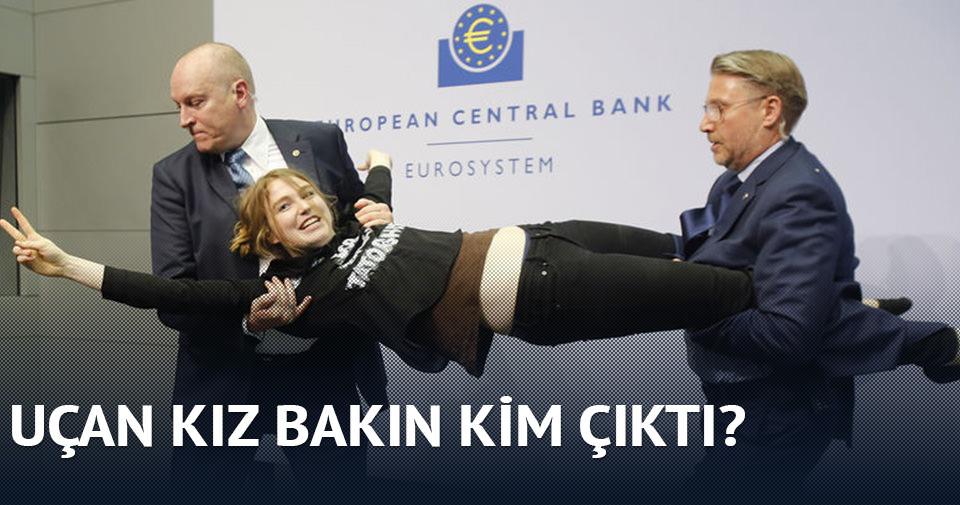 Avrupa Merkez Bankası eylemcisi Josephine Witt çıktı