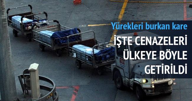 İspanya'da boğulan 3 Türk'ün cenazesi İstanbul'da