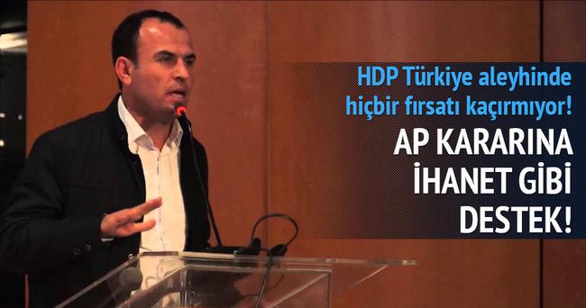 HDP'li Sarıyıldız: AP'nin Ermeni kararını yerinde görüyoruz