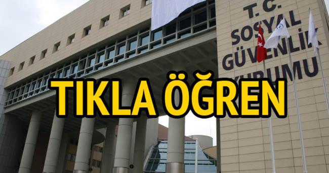 SGK Portal: Prim sorgulama — SSK gün sorgulama!