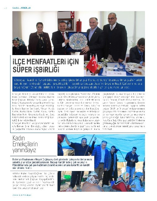Orhangazi Belediyesi'nden Dergi