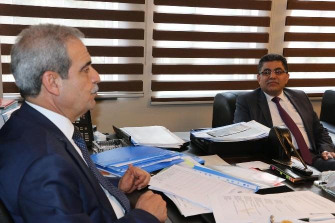Suriye Geçici Hükümet Başbakanı Hito'dan Başkan Demirkol'a Ziyaret