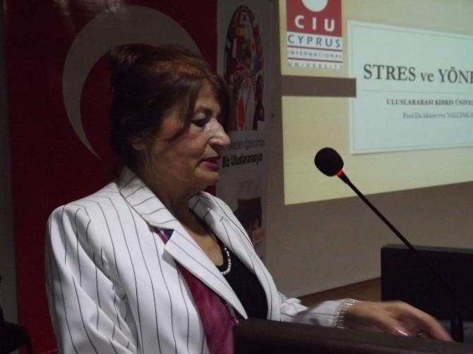 Rehber Öğretmenlere 'Stres' Semineri