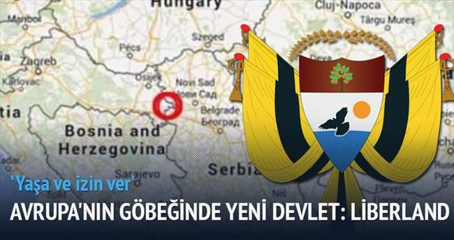 Avrupa'da yeni ülke: Liberland