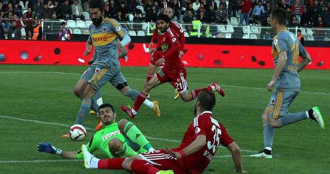 Kayserispor'da kupa üzüntüsü