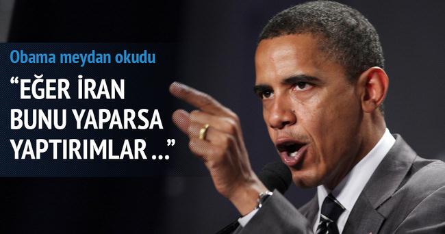 ABD Başkanı Barack Obama meydan okudu