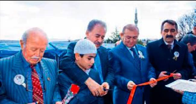 Elmadağ'da yatılı Kur'an kursu açıldı