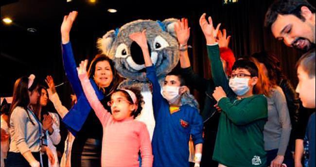 Hacettepe Üniversitesi çocuklar için sağlık ve sanatı buluşturdu