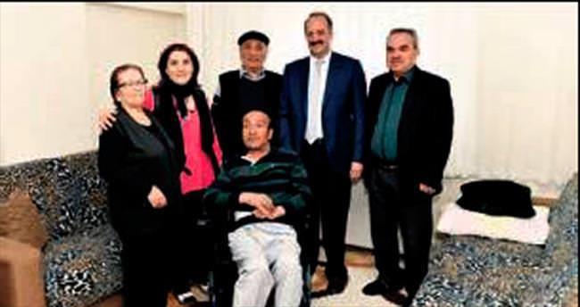 Akgül'den MS hastası Yusuf Doğan'a moral ziyareti