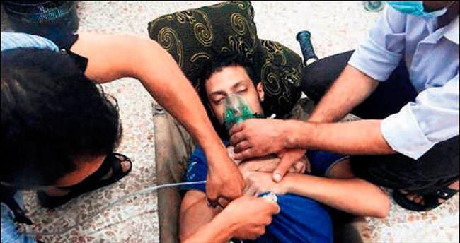Kimyasal saldırı videosu BMGK üyelerini ağlattı