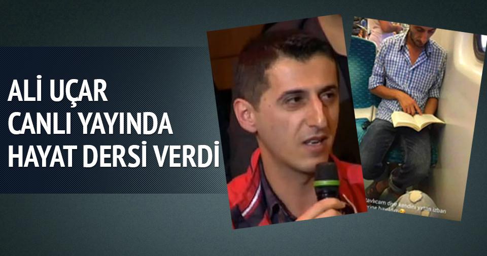 İzmirli Ali Uçar'ı canlı yayında hayat dersi verdi
