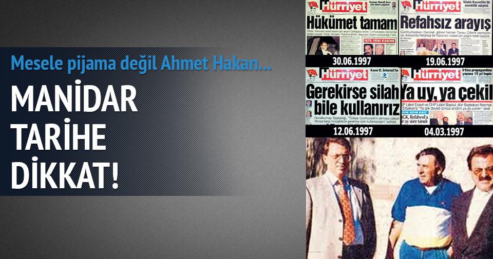 Mesele pijama değil Ahmet Bey!..