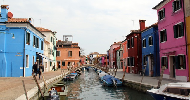 Venedik'in en renkli adası: Burono