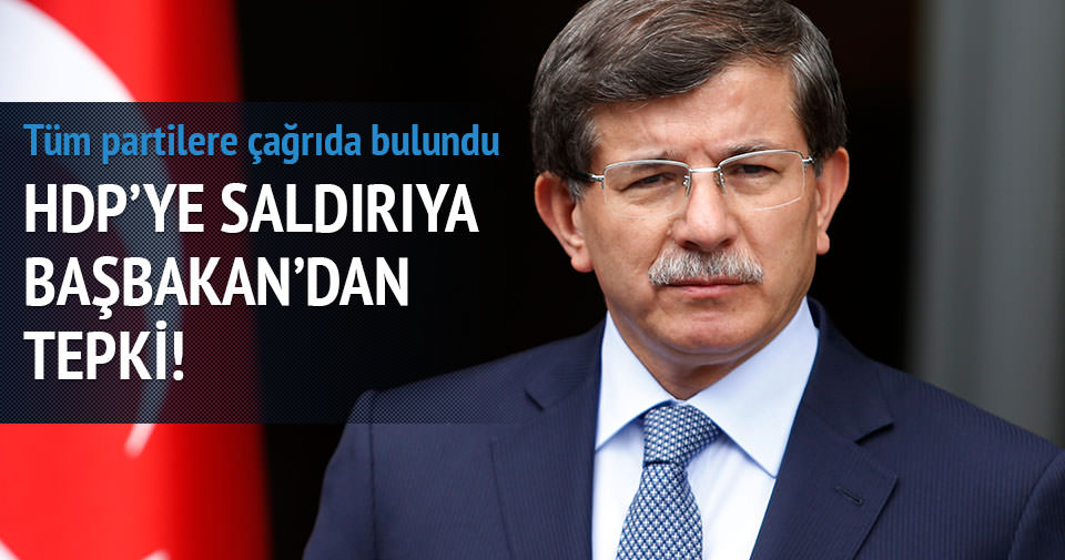 HDP Genel Merkezi'ne saldırıya hükümetten tepki