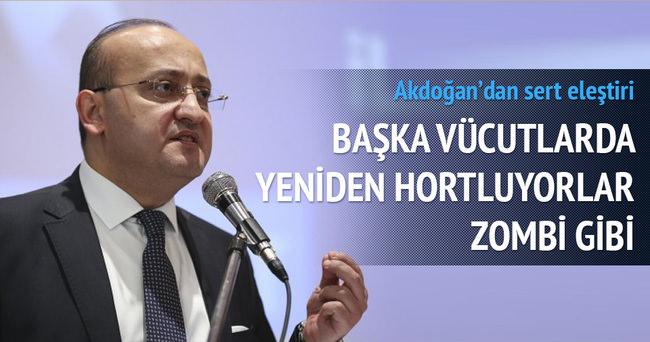 Akdoğan HDP'ye yapılan saldırıyı kınadı