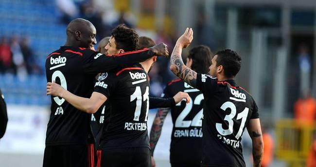 Beşiktaş gol oldu yağdı