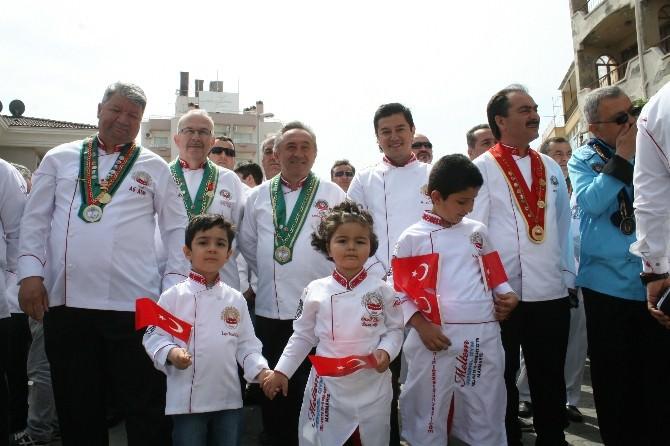 Marmaris'te Renkli Aşçılar Bayramı Kutlaması