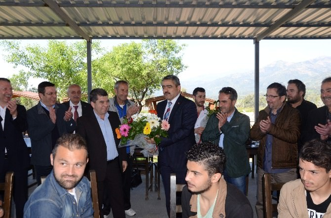Nazilli Belediyespor Camiası Kahvaltıda Buluştu
