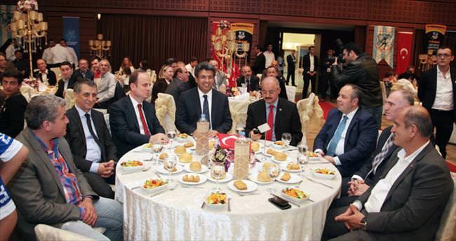 İstanbul Balkan spor'a muhteşem açılış gecesi