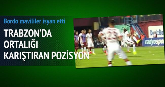 Trabzon'da ortalığı karıştıran pozisyon