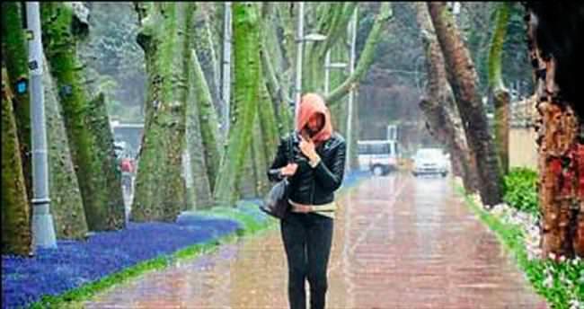Ege'ye sağanak yağmur geliyor