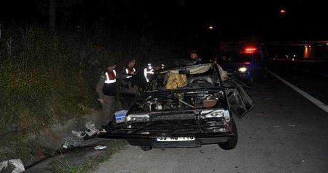 Mersin'de feci kaza: 3 ölü