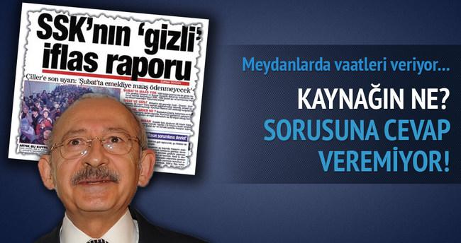 Kılıçdaroğlu canlı yayında bu soruyu yanıtlayamadı