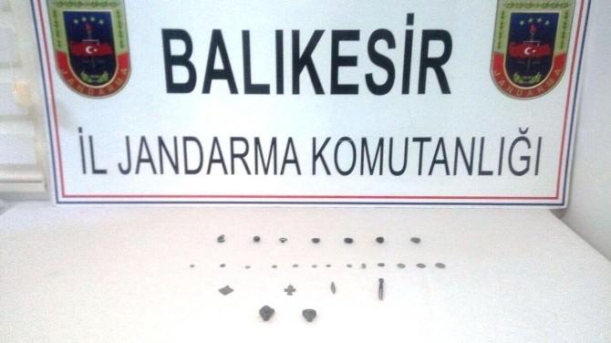 Bandırma'da Tarihi Eserler Ele Geçirildi