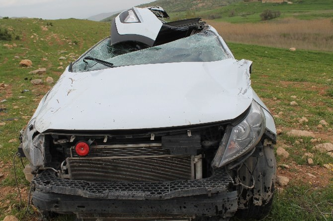 Batman'da Trafik Kazası: 1 Yaralı